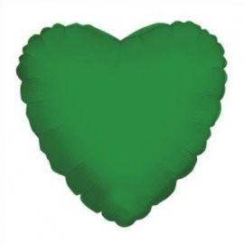 18 INCH EMERALD GREEN HEART