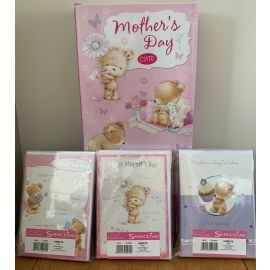 BOX OF 12 DESIGNS X 12 PACKS MOTHERS DAY CUTE