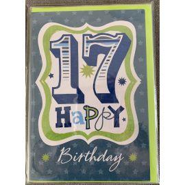 17 HAPPY BIRTHDAY CODE 50 PK OF 6