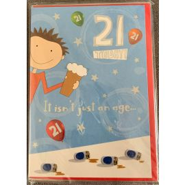 21 TODAY HUMOUR CODE 50 PK  OF 6