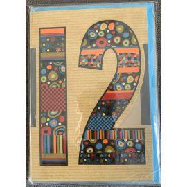 12TH BIRTHDAY  CODE 50 PK OF 6