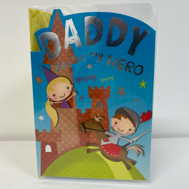 DADDY YOUR MY HERO CODE 50 PK6 CARDS