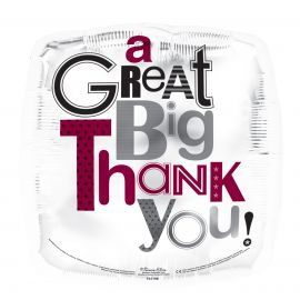18 INCH A GREAT BIG THANK YOU