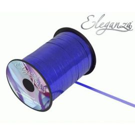 ELEGANZA POLY CURLING RIBBON 5MM X 250Y METALLIC BLUE