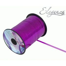ELEGANZA POLY CURLING RIBBON 5MM X 250Y METALLIC FUCHSIA