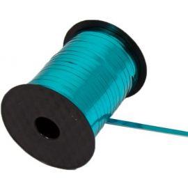 ELEGANZA POLY CURLING RIBBON 5MM X 250Y METALLIC CARIBBEAN BLUE