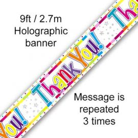 THANK YOU BANNER 2.7M