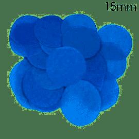 BLUE TISSUE PAPER CONFETTI 15MM X 14G