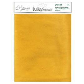 ELEGANZA TULLE FINESSE GOLD 3M X 3M