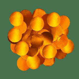 FOIL CONFETTI ROSE GOLD 10MM X 50G