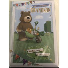 BIRTHDAY WISHES GRANDSON CODE G PK OF 12