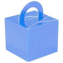 BALLOON GIFT BOX WEIGHT LIGHT BLUE X 10 PCS