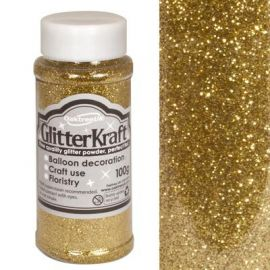 Kraft Fine Glitter 100g Metallic Gold No65