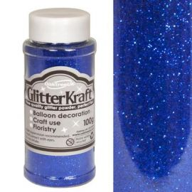 Kraft Fine Glitter 100g Blue No18