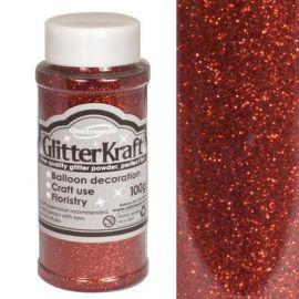 Kraft Fine Glitter 100g Red No16