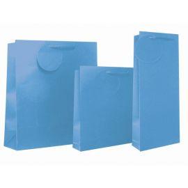 BLUE COLOUR BOTTLE BAG PK OF 12