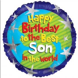 18 INCH HAPPY BIRTHDAY BEST SON