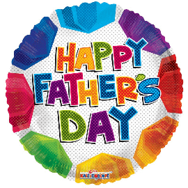 18 INCH FOIL FATHERS DAY BALLOON
