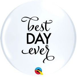 11 INCH SIMPLY BEST DAY EVER PK OF 50  12870 071444128704