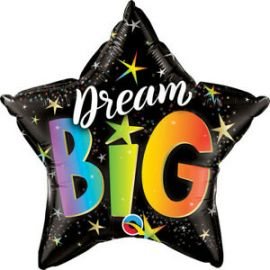 20 INCH DREAM BIG RAINBOW STARS 17431 071444174251