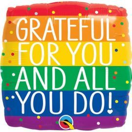 18 INCH GRATEFUL FOR YOU AND ALL YOU DO 18868 071444188593