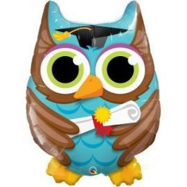 34 INCH GRADUATION OWL 55863 071444558587
