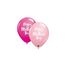 11 INCH MOTHERS DAY SCRIPT PK OF 25 071444856812