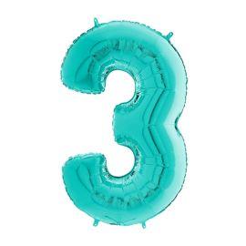 26 INCH TIFFANY NUMBER 3 BALLOON