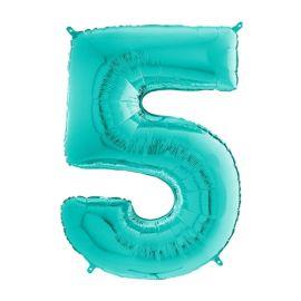 26 INCH TIFFANY NUMBER 5 BALLOON