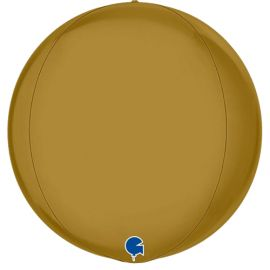 15 INCH GLOBE GOLD 4D PKD