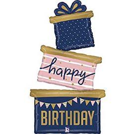 51 INCH NAVY BIRTHDAY GIFT TRIO 35963
