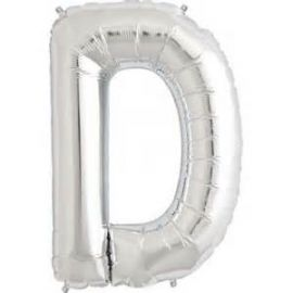 16 INCH AIR FILL SILVER LETTER D