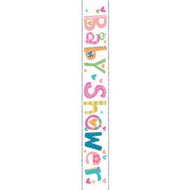 BABY SHOWER BANNER 2.5M