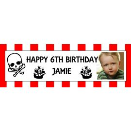 LARGE PERSONALISED BANNER 6FT X 2FT TEMPLATE 2