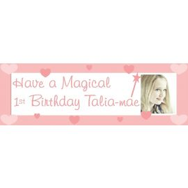 LARGE PERSONALISED BANNER 6FT X 2FT TEMPLATE 4