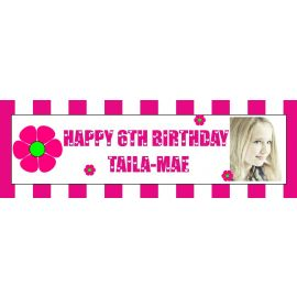 LARGE PERSONALISED BANNER 6FT X 2FT TEMPLATE 5