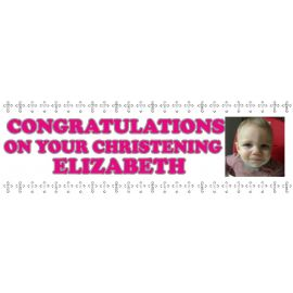 LARGE PERSONALISED BANNER 6FT X 2FT TEMPLATE 9